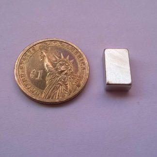 15mm x 9mm x 5mm neodymium block magnets