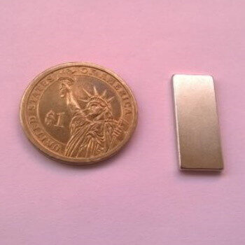 25 x 10 x 2mm neodymium magnet