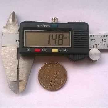 3 x 1.5mm neodymium magnets