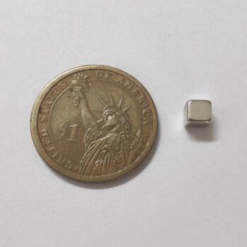 5mm x 5mm x 5mm neodymium cube magnets