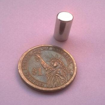 6 x 15mm Neodymium Magnets