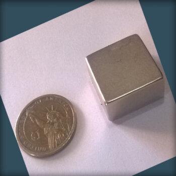 25 x 25 x 12mm Neodymium Magnet