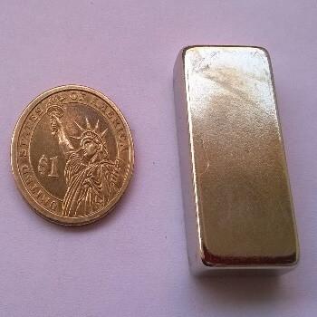 50 x 25 x 12.5mm neodymium Block Magnet