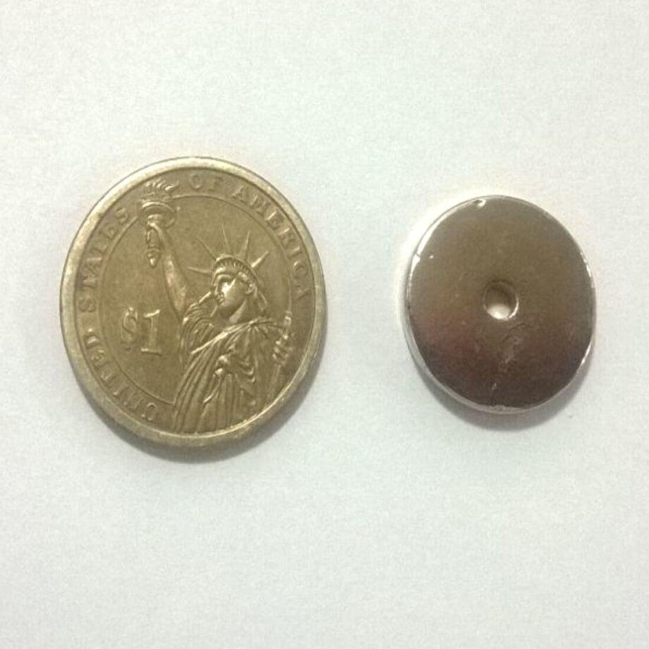 20mm x 3mm (Hole) x 3mm Neodymium Ring Magnets