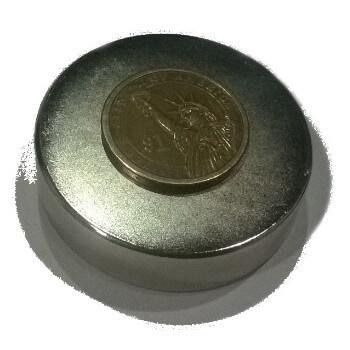 50mm x 10mm Neodymium Disc Magnets