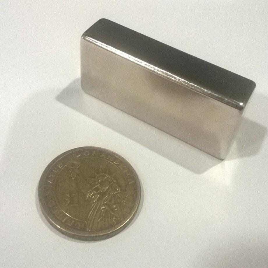 50mm x 20mm x 12.50mm Neodymium Block Magnets