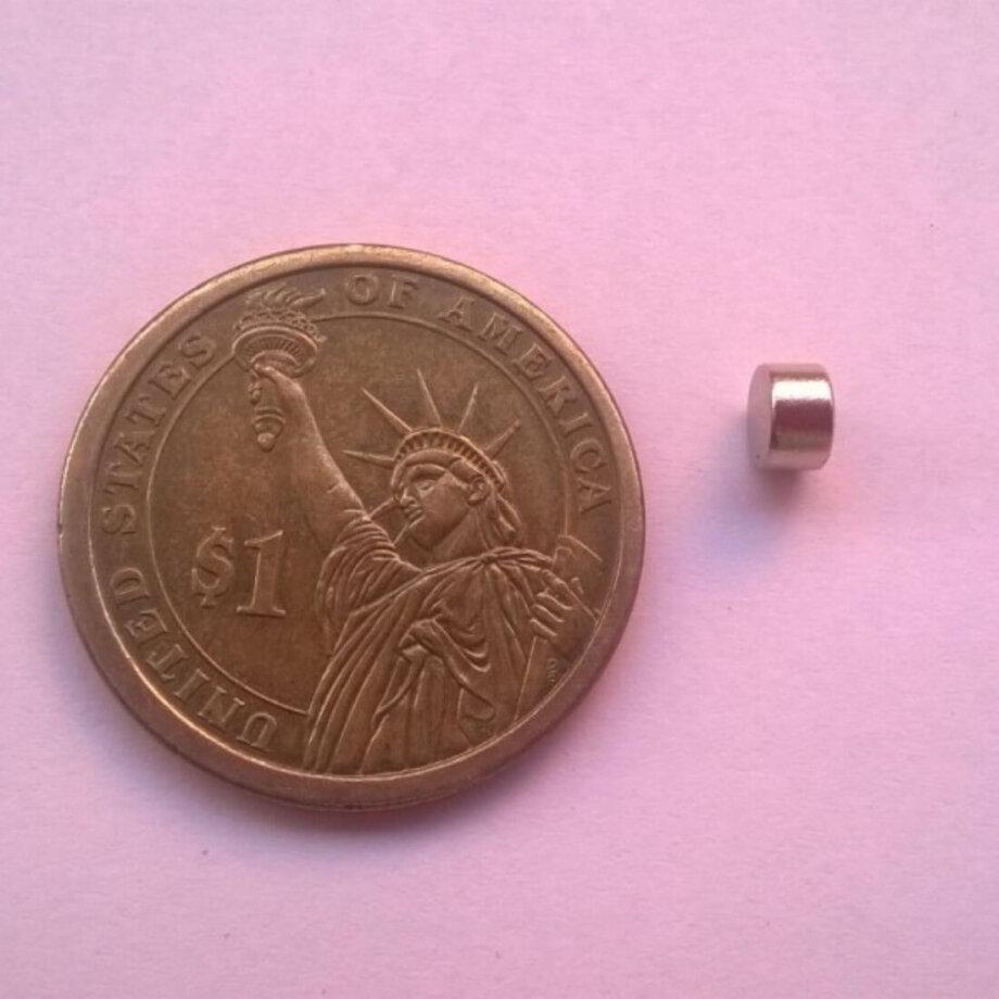 6 x 3mm Neodymium Magnets