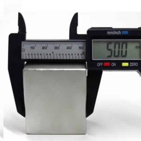 50 x 50 x 12.50mm Neodymium Block Magnets