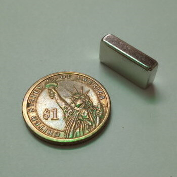 20 x 10 x 5mm neodymium block magnet