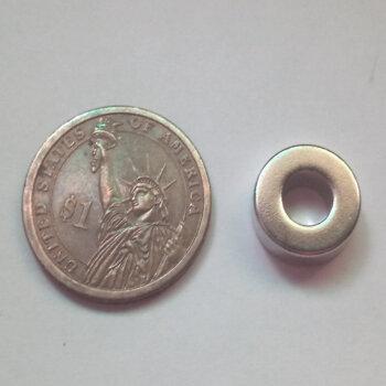 OD15 x ID7 x 5mm Neodymium Magnet