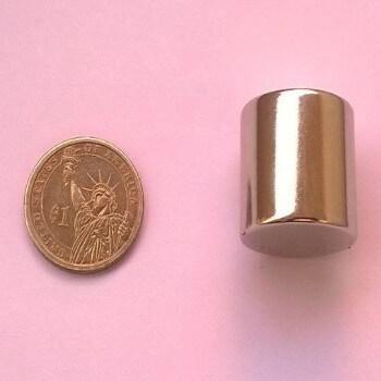 25mm x 25mm Neodymium Magnets