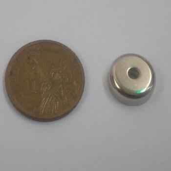 PME-A16 countersunk pot magnets