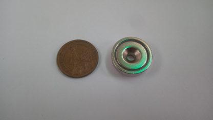 Countersunk Pot Magnets PME-A25, countersunk pot magnets, Pot magnets,