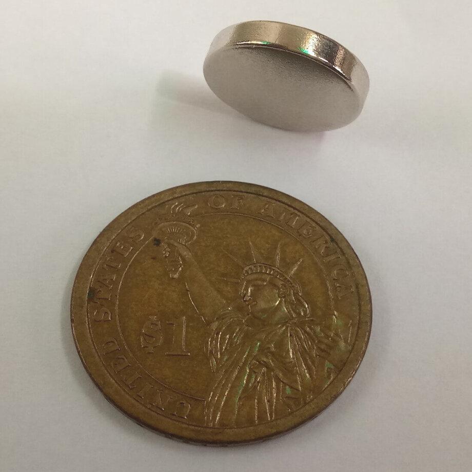 15mm x 3mm neodymium disc magnets