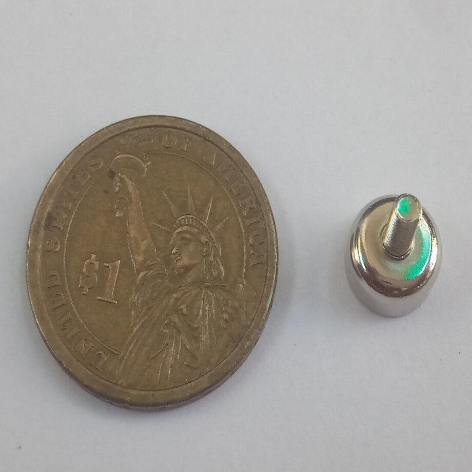 External Thread Pot Magnets PME-C10 – Force 2.0kg