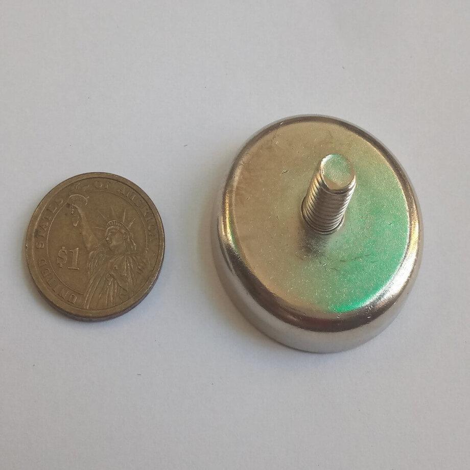 External Thread Pot Magnets PME-C42 – Force 66Kg