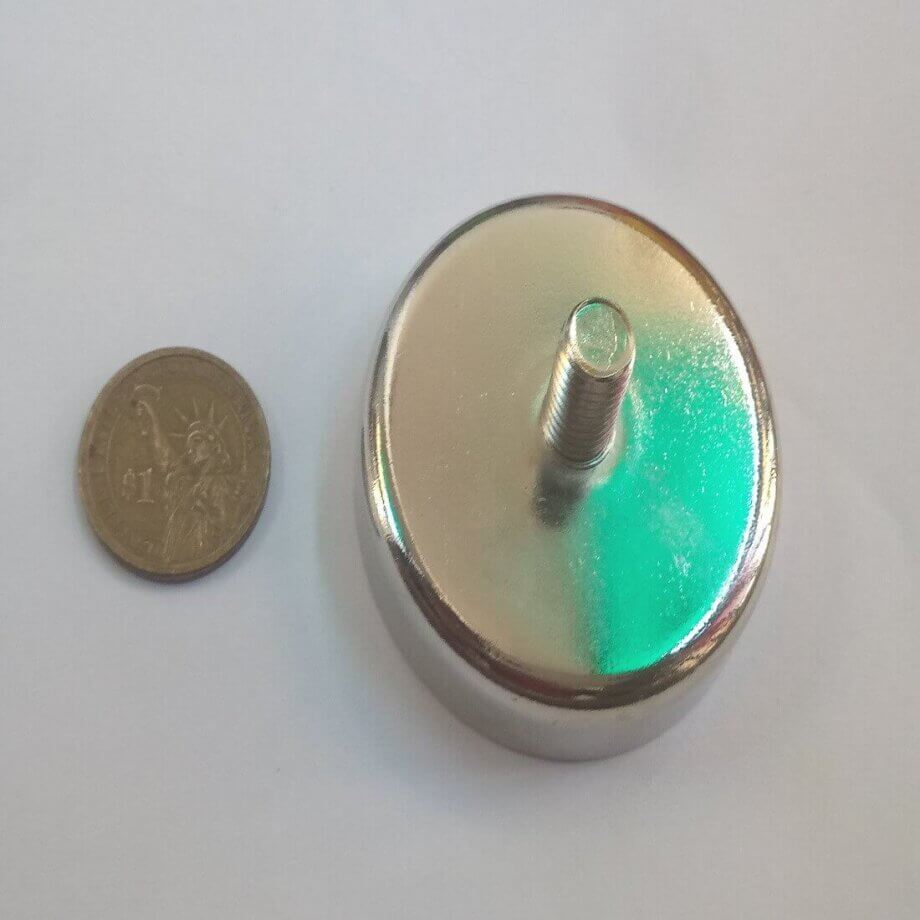 External Thread Pot Magnets PME-C60 – Force 112Kg