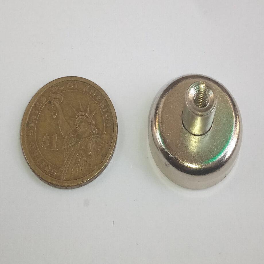 Internal Thread Pot Magnets PME-D25 - Force 17.0kg