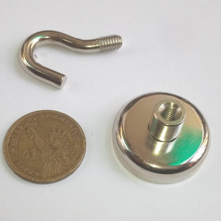 Neodymium hook Magnets PME-E32