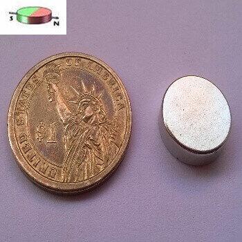 15 x 5mm Neodymium Disc Magnets – Diameter