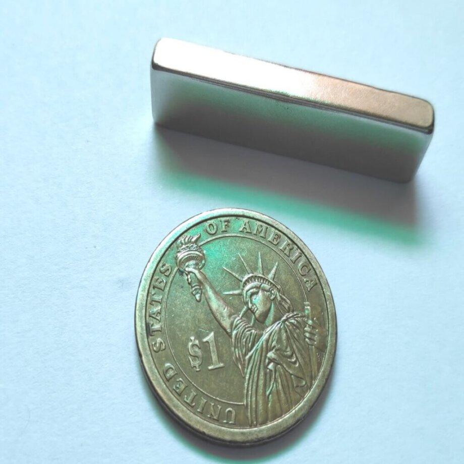 40mm x 10mm x 5mm neodymium block magnets