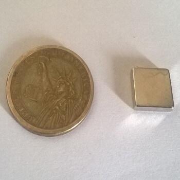 12 x 12 x 3mm Neodymium Magnet