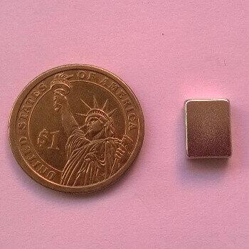 12 x 9 x 4mm neodymium magnet
