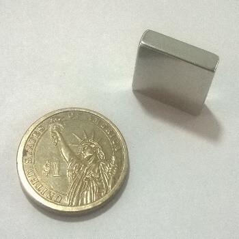 20 x 15 x 6mm Neodymium Magnet