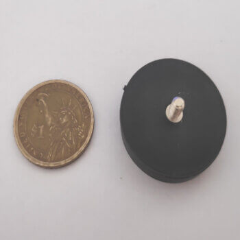 External Thread Rubber Pot Magnets PME-H34 - Force 7.7kg