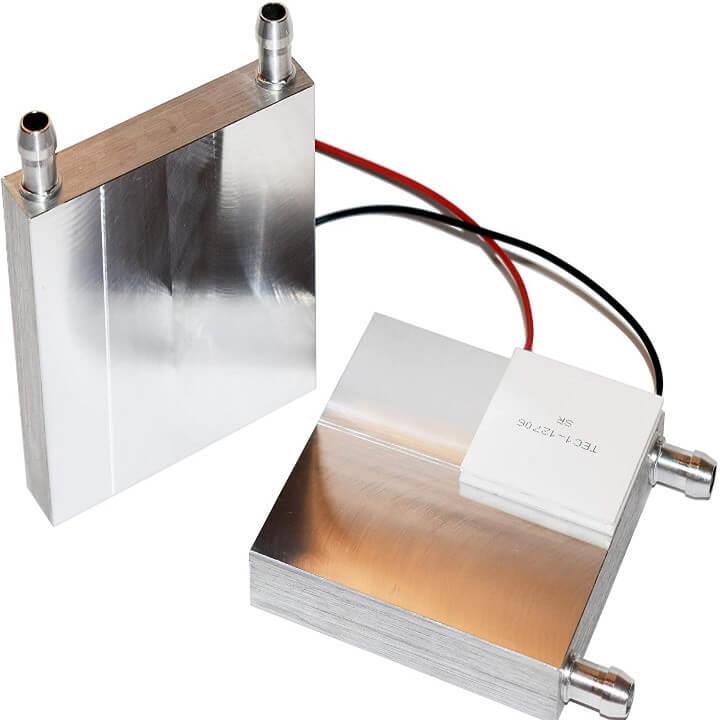 Aluminium Water cooling block 80*80