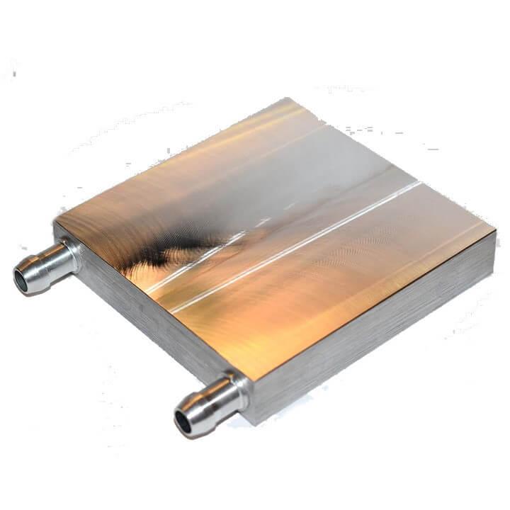 Aluminium Water cooling block 80 x 80