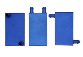 Water Cooling Block blue side