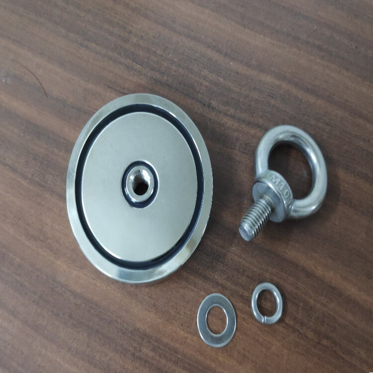 Fishing Magnet with M10 Eyebolt PME-RS75-3 – Force 200Kg