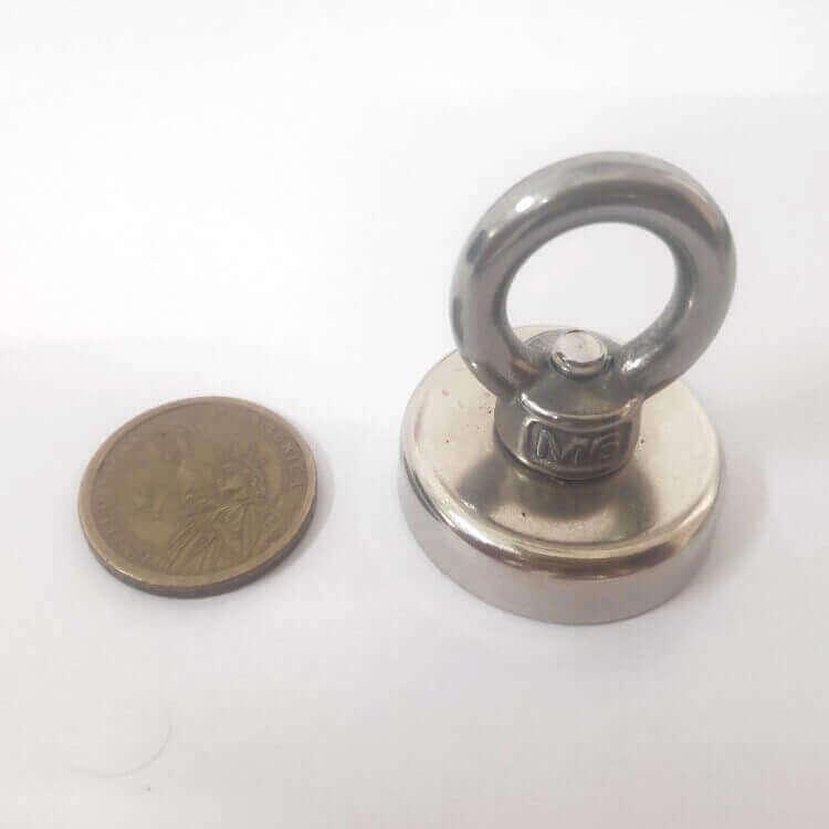Neodymium hook magnet with Eyebolts PME-FA36
